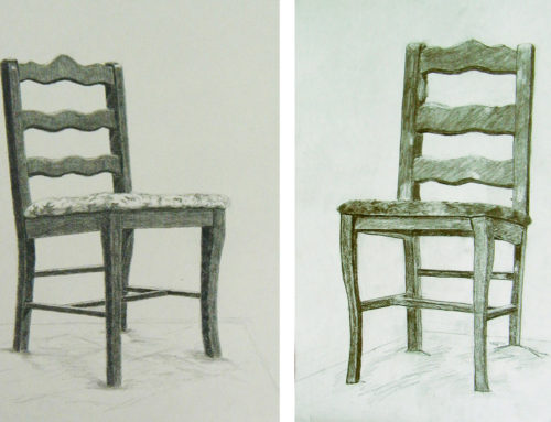 Two Views of the Chair from Hell