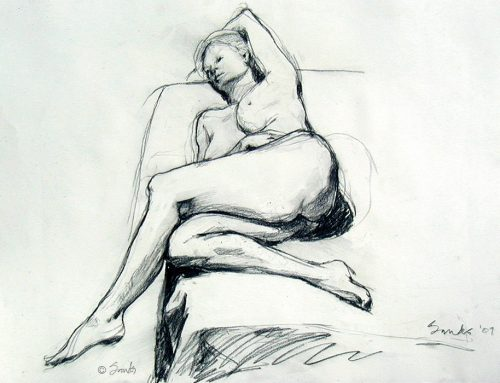 FIGURE DRAWING AND PEOPLE WITH PORN BRAINS
