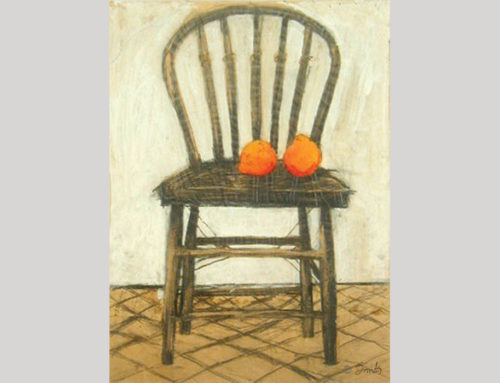 CHAIR AND ORANGES